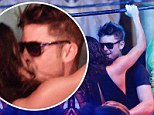 Young, wild and free! Zac Efron dirty dances with new girlfriend Michelle Rodriguez as their romantic getaway heats up