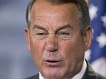 Boehner erupted in anger at Obama on Thursday: 'He's been president for five and a half years -- when's he going to take responsibility for SOMETHING?'