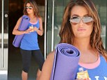 So that's how she does it! Lea Michele gave a hint as to how she achieves her shape in Los Angeles on Thursday