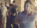 Will Smith highlights his sculpted physique in tight-fitting top as he goes clubbing with friends during relaxing summer break in Ibiza