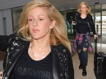 Ellie Goulding enjoys a date night with boyfriend Dougie Poynter in London ahead of jetting off to perform in Dublin