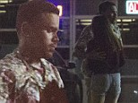 Moving on already? Chris Brown spotted hugging mystery woman just days after 'split' with Karrueche Tran