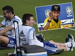 Neymar: I'll be rooting for Lionel Messi and Argentina in 2014 World Cup final