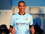 Ambition: New Manchester City signing Fernando want to become one of the club's greats