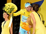 Full bloom: Vincenzo Nibali takes the race lead into France after stage three