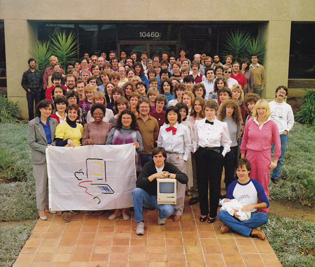 The Apple Macintosh Team