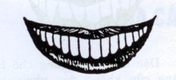 coi bói với hàm răng hạt lựu