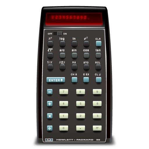 Steve Wozniak HP-35 Calculator