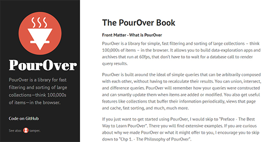 Fast-Filtering-and-Sorting-Large-Collections-PourOver