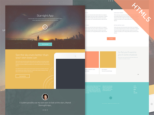 Starnight-HTML5-CSS3-Website-Template