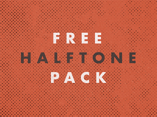 Free-Halftone-Textures-Pack