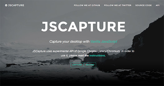 JSCapture-Screen-Capture-Library-with-JS-and-HTML5