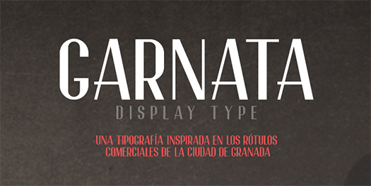 Garnata-Display-Free-Font