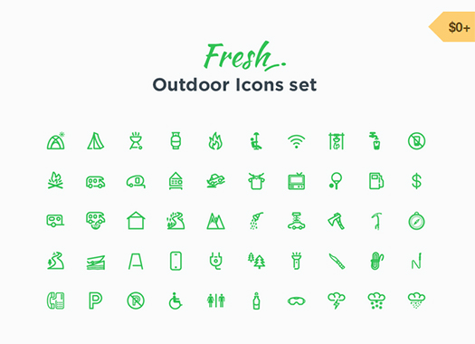 50-Free-Outdoor-Icons