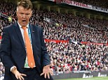 All gone: Manchester United have sold out their season ticket allocation following Louis van Gaal's appointment