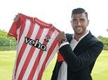 New arrival: Southampton have completed the £8m signing of Feyenoord striker Graziano Pelle