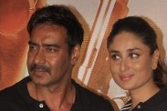 Kareena and Ajay at Singham Returns trailer launch