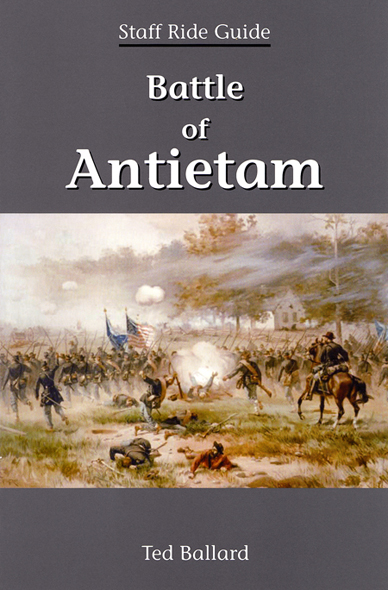 Cover:  Battle of Antietam.  Artist Unknown.