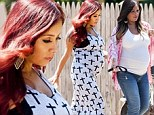 Gym, tan, diapers! Pregnant pals Snooki and Jwoww put their blossoming baby bumps on display as they film their reality show in New Jersey