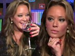 Best and worst: Leah Remini fielded a question about leaving Scientology on Wednesday during an appearance on Bravo's Watch What Happens Live