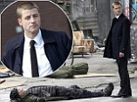 Former The OC star Ben McKenzie gets into character on the set of new Batman prequel television show Gotham