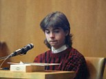 Guilty: In this March 12, 1991 file photo, William Flynn, 17,  testifies in the Pamela Smart murder conspiracy trial.  Flynn was moved to a minimum-security prison this past week as part of a work-release program