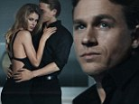 Charlie Hunnam gives Fifty Shades of Grey fans a glimpse of what could have been in steamy Calvin Klein commercial with Doutzen Kroes
