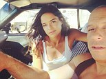 'This one's for your P!': Michelle Rodriguez pays tribute to Fast And Furious co-star and close friend Paul Walker in Instagram snap with Vin Diesel
