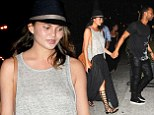 John Legend and model wife Chrissy Teigen opt for laid-back chic as they enjoy romantic meal in New York
