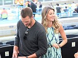 Stars: Tom Brady and Gisele Bundchen were spotted at the Maracana