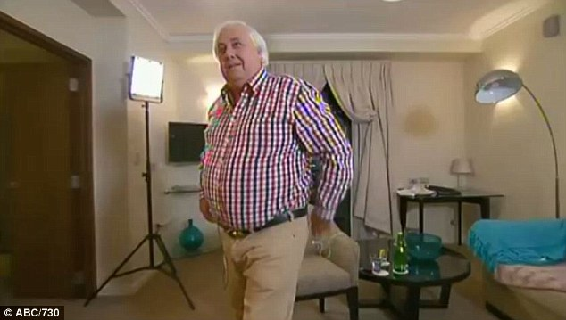 Clive Palmer reportedly yelled at senate assistant clerk on Thursday, just hours stormed out of an interview on the ABC's 730 program after host Sarah Ferguson quizzed him about an ongoing legal dispute