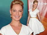 'I don't see myself as being difficult': Katherine Heigl addresses rumours she's hard to work with as she fronts panel for new TV series State Of Affairs