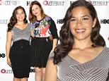 'We go on double dates all the time!' America Ferrera is joined by Sisterhood Of The Traveling Pants co-star Amber Tamblyn, who gushes about their close friendship