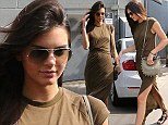 One for the history books! Kendall Jenner steps out looking like a modern day Grecian goddess