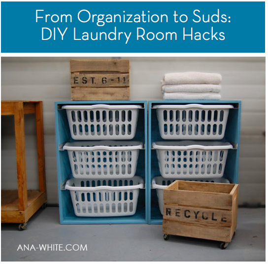 Roundup: 8 DIY Laundry Room Hacks, Tips, & Ideas » Curbly | DIY ...