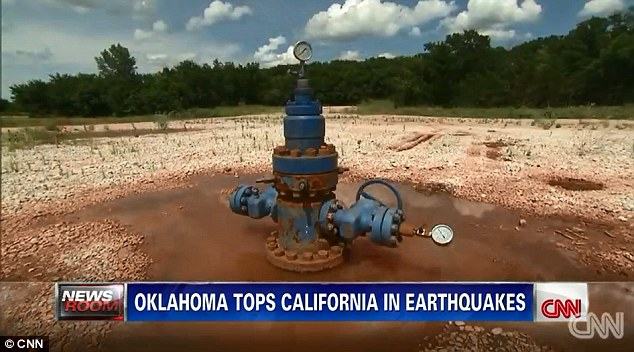 Cause? The rise in the number of earth tremors has coincided with the rise of fracking in Oklahoma