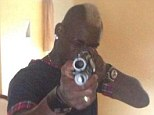 Controversy: Mario Balotelli posted a pictured of himself with a gun on Instagram before deleting it