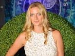 Petra Kvitova arriving at the Wimbledon Champions Dinner