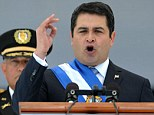 Honduran President Juan Hernandez (pictured in January) wants more aid for Central America from the U.S.