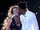 Trying to get through this: Beyonce and Jay Z have reportedly turned to online marriage counselling to deal with unresolved issues