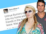 'It was so scary!' Paris Hilton breaks her silence over brawl at her beach house which left her brother Barron in hospital and allegedly involved Baywatch star Jeremy Jackson