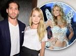 That's Mrs. Angel to you! Victoria's Secret model Lindsay Ellingson weds fiancé Sean Clayton