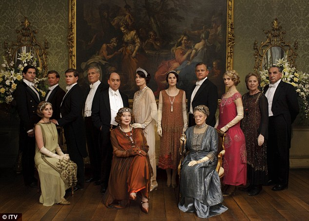 Diversity push: Some shows like Downton Abbey have managed to introduce black faces in later series