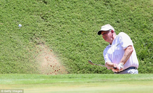 Run: Montgomerie won the Senior PGA Championship seven weeks ago - his first official victory in America