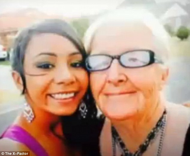 Fortunate: The Australian woman says she's lucky to have her grandmother, she's used her experience to help other children in a similar situation