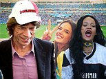 Football fan: Mick Jagger attended the World Cup final in Rio De Janeiro, Brazil on Sunday in which Germany beat Argentina 1-0 in overtime for the title