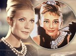 Most Beautiful Woman Alive Gwyneth Paltrow is slammed by critics for not being 'pretty enough' to emulate style icon Audrey Hepburn in new ad campaign