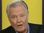 Stinging: Actor Jon Voight launched an attack against President Barack Obama and the Democratic Party on Fox News, in a statement that lasted about 10 minutes