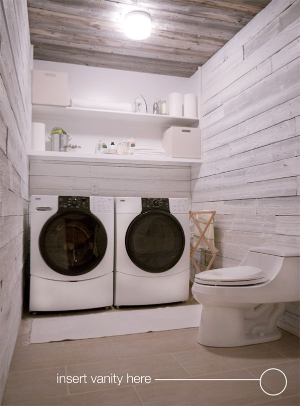 Concrete DIY: Our Laundry Room Vanity | HGTV Design Blog – Design ...