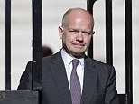 Out of Government? William Hague was tonight rumoured to be quitting his post as Foreign Secretary ahead of a dramatic Government reshuffle